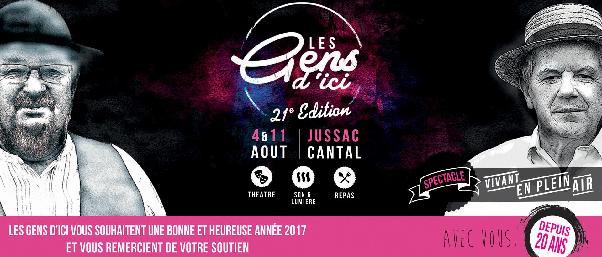 Vœux 2017 Les Gens d'Ici