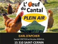 L'oeuf du Cantal